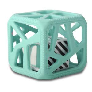 Hochet-cube-Malarkey-Kids-vert-mint